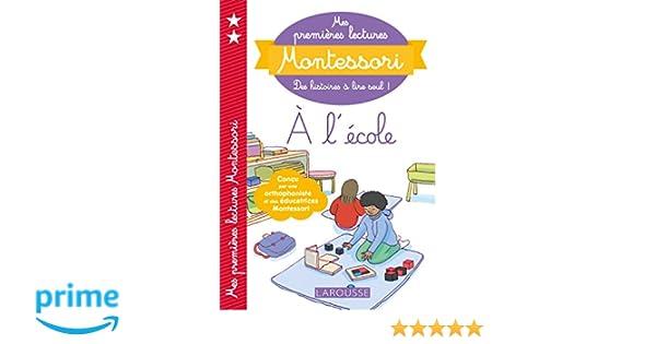 Amazonfr Mes Premières Lectures Montessori A Lécole Anaïs