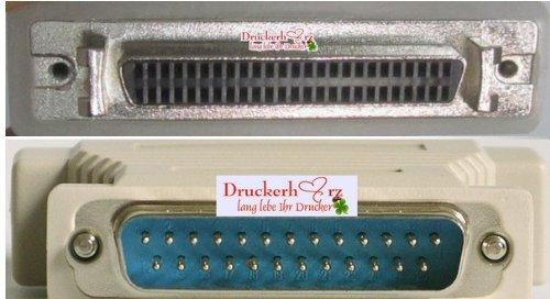 SCSI 1 - SCSI 3 Adapter DB25 Stecker - HD50 Buchse / 25 Pin männlich/male - weiblich/female -