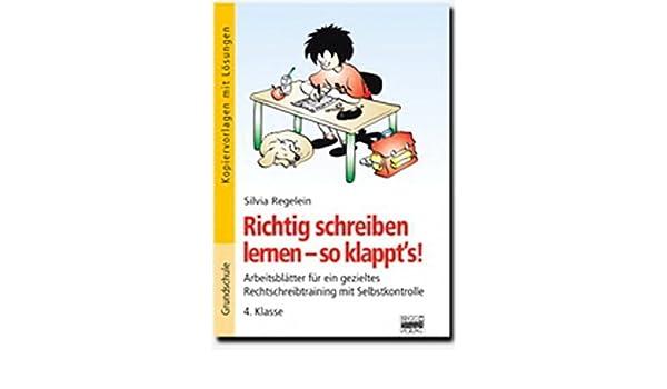Richtig Schreiben Lernen So Klappts 4 Klasse Kopiervorlagen