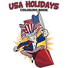 USA Holidays Coloring Book: Coloring Books for Kids