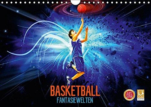 Basketball Fantasiewelten (Wandkalender 2017 DIN A4 quer): Kommen Sie mit auf eine Reise in fantastische Basketballwelten. (Monatskalender, 14 Seiten) (CALVENDO Sport)