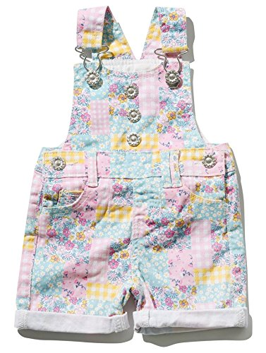 MCo-Baby-Girl-Cotton-Rich-Pastel-Floral-Patchwork-Pattern-Silver-Button-Dungarees