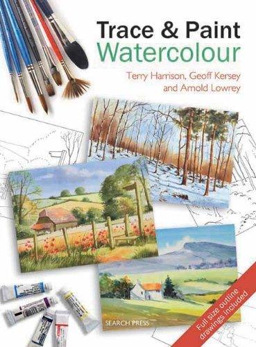 Trace & Paint Watercolour (Ready to Paint) by Terry Harrison (2010-07-09)