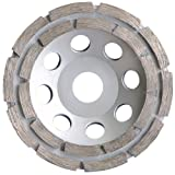 Diamant Topfschleifer Schleiftopf Ø 125 mm für Beton, Estrich und allg. Baumaterialien Schleifteller Schleifscheibe