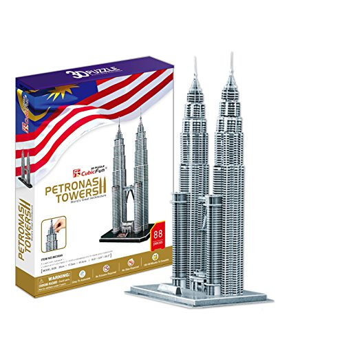 Puzzle 3D - Petronas Towers -