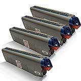 4x kompatible Tonerkartuschen für OKI C-831 Series C831 N C831 DN C831 DM C831 CDTN C840 Series C841 CDTN C841 DN C841 N Black Cyan Magenta Yellow - Sparset - Office Line Serie