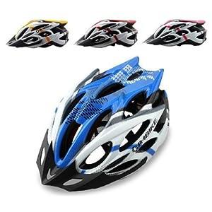 Dayiss ® 2014 Nueva INBIKE Ciclismo BMX bicicletas héroe de la bici del casco con el visera 4 colores (azul)