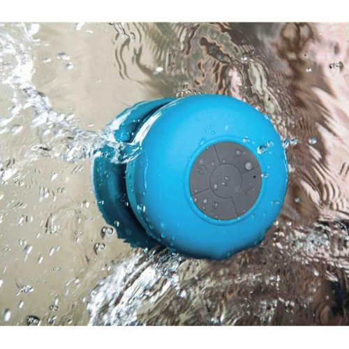 Tiny Deal Bts-06 Mini Wireless Waterproof Hands-Free Bluetooth Speaker W/ Suction Cup / Microphone - 4 Colors