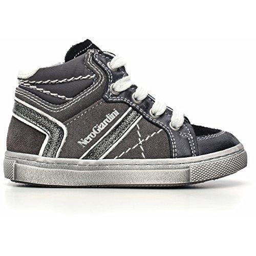Nero Giardini Junior , {Chaussures premiers pas pour bébé (garçon) Noir Nero - Noir - Brandon Nero, 20 EU