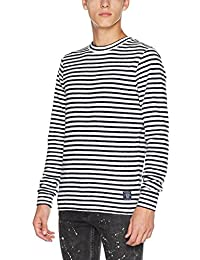 Scotch & Soda Herren T-Shirt Breton Gestreift T-shirt