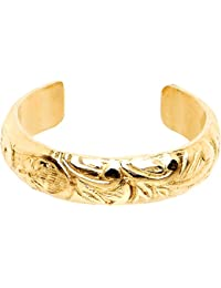 Body Candy Handcrafted Gold Filled Flourishing Flower Toe Ring