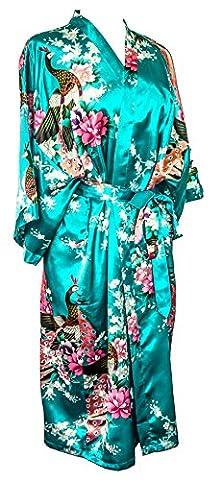 motif paon et fleurs, 16 couleurs différentes, lingerie, nuisette, robe
