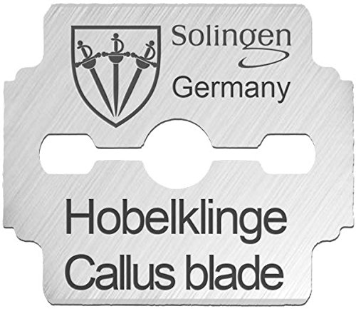 THREE SWORDS | 80 pieces replacement blades / spare blades for corn plane / callus remover / shaver / cutter | Made in Solingen / GERMANY by THREE SWORDS (002914)