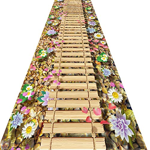 SESO UK- Creative Teppich Läufer für Flur und Treppen, Anti-Rutsch-Haus Langen Teppich Runner (Size : 90×200cm)