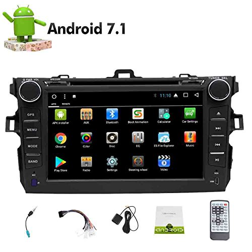 In Dash Android 7.1 OS Octa-Core Screen-Auto-Stereo-Doppelt-Lärm im Schlag-Navigation GPS 2DIN Head Unit DVD-Spieler Autoradio Bluetooth WiFi 1080P OBD2