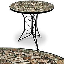 Tischplatte rund stein  Suchergebnis auf Amazon.de für: gartentisch stein