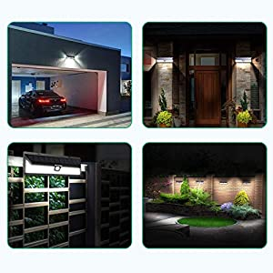 Mpow-102-LED-Solar-Lights-Motion-Sensor-Super-Bright-Wall-Lights-3-Optional-Lighting-Modes-Large-Solar-Panel-120-Sensing-Angle-Weatherproof-Great-Outdoor-Lights
