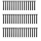 Pasow - Bridas ajustables para sujetar cables (reutilizables, 6 pulgadas)
