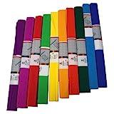 Staufen 617003 - Krepppapier 10 Rollen 50 x 250 cm