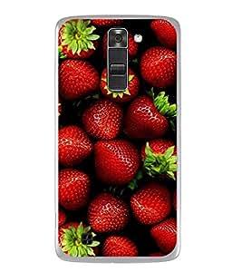 PrintVisa Designer Back Case Cover for LG K10 :: LG K10 Dual SIM :: LG K10 K420N K430DS K430DSF K430DSY (Sturges Studious Studio's Striping Stresses Strenuously Streamlined)