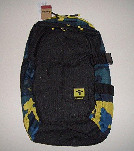 Reebok Action Laptop Backpack, Rucksack mit geräumigen Hauptfach & Frontfach mit wasserfesten Reißverschluß, Robustes Material aus 100% Polyester, Verstellbarer, gepolsterter Trageriemen, Maße ca 48x33x15 cm