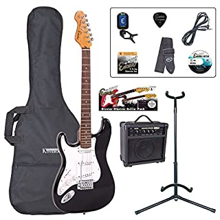 Encore EBP-LHE6BLK Elec. Guitar Outfit, Black Left Hand (B001XURKMC) | Amazon price tracker / tracking, Amazon price history charts, Amazon price watches, Amazon price drop alerts