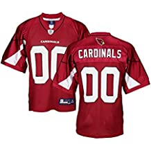 Reebok Camiseta para hombre de los Arizona Cardinals de la NFL