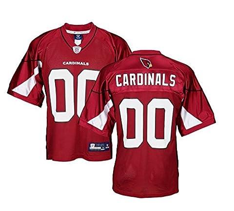 Reebok Arizona Cardinals NFL pour homme réplique équipe Jersey, - Rouge - Medium