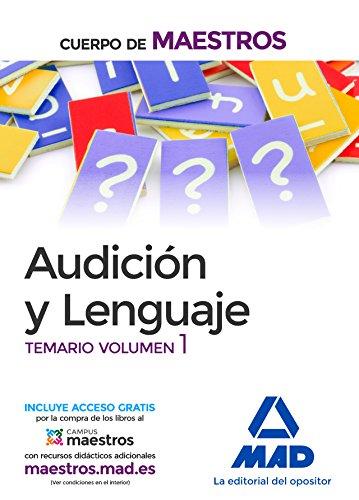 Cuerpo de Maestros Audición y Lenguaje. Temario Volumen 1 por S.L. CENTRO DE ESTUDIOS VECTOR