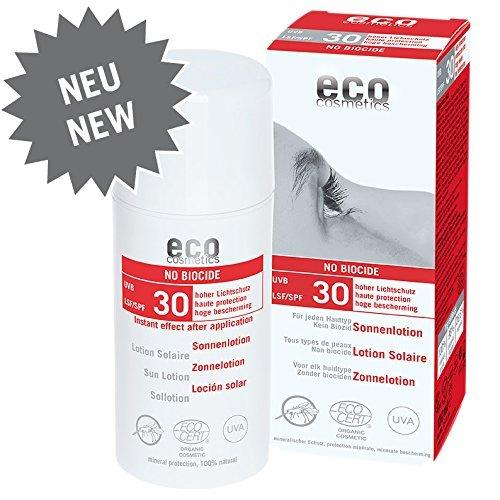 eco cosmetics: Sonnenlotion LSF 30 mit Anti-Mückenschutz (100 ml)