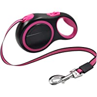 8M Long Strong Pet Leash for Large Dogs Durable Nylon Retractable Big Dog Walking Leash Leads Automatic Extending Dog…