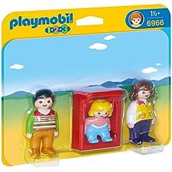 Playmobil 1.2.3 - 1.2.3 Padres con Bebé (6966)