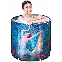 MMM- Erwachsene Falten Bad Badewanne Home Bad aufblasbare Badewanne Thicker Kinder Waschbecken