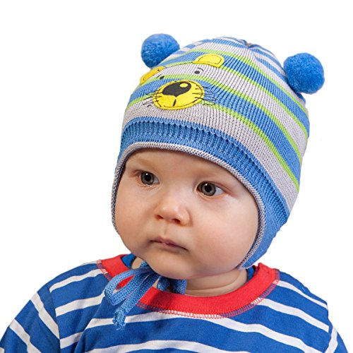 Galeja Tutu by Jungenmütze 100% BW Babymütze in weiß Größe 40-44 Kindermütze