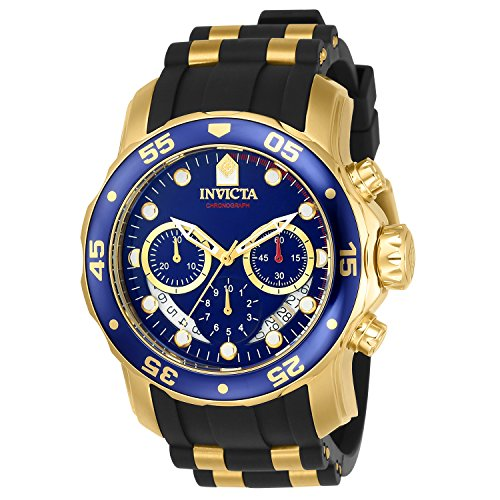 Invicta 6983 Pro Diver - Scuba Herren Uhr Edelstahl Quarz blauen Zifferblat