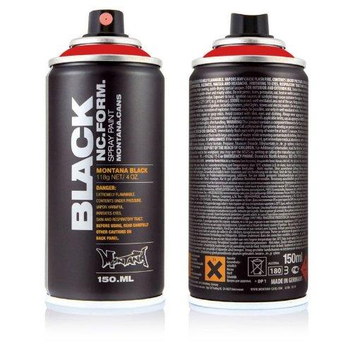 Montana BLACK Sprühdose POCKET CAN, 150 ml Code Red