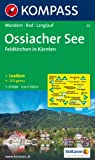 Ossiacher See, Feldkirchen in Kärnten: Wander- und Bikekarte. GPS-genau. 1:25.000