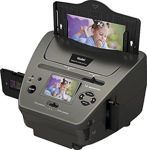 Rollei PDF-S 340 14 Megapixel Photo-Dia-Film-Scanner für Dias/Negative/Foto