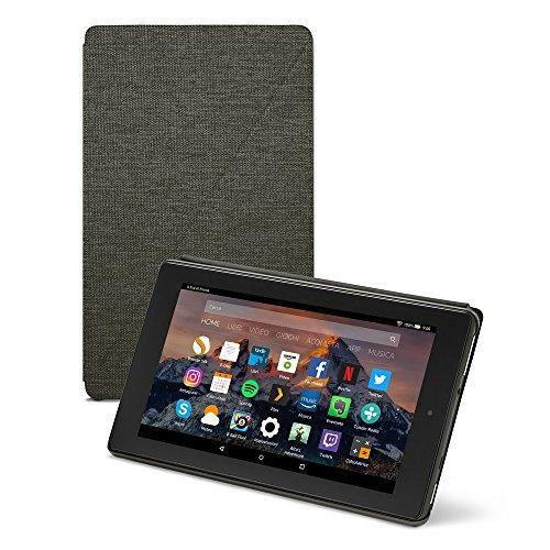 Amazon - Custodia per Fire 7 (tablet 7'', 7ᵃ generazione, modello 2017), Nero