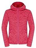 THE NORTH FACE Damen Jacke Nikster Full Zip Hoodie, Cerise Pink/Rambutan Pink, M, T0A6KLQ3J