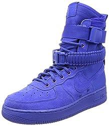 Nike Men's Sf Air Force 1 Gymnastics Shoes, Blu (Game Royalgame Royal 401), 9.5 Uk