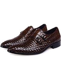 Dilize - Zapatos de cordones para hombre, color gris, talla 44 EU