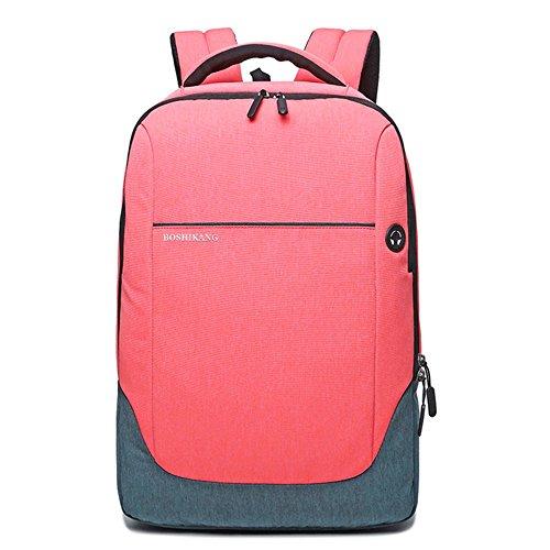 i, Rucksack Für Laptop-Rucksack Für Computer-Rucksack Für Reisen Mit Wochenendreisetasche - 15.6-Zoll-Laptops,Pink (Notebook-rucksack North Face Rosa)