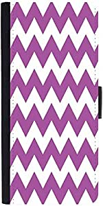 Snoogg White And Purple 2569 Designer Protective Flip Case Cover For Samsung ...