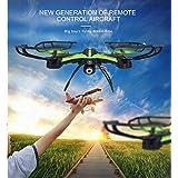 Wifi-Kameralı 2.4GHz, 6 Kanal Işıklı Quadcopter Drone(CH202W) ORJİNAL ÜRÜN -STOKTAN AYNI GÜN ÜCRETSİZ KARGO (Sarı)