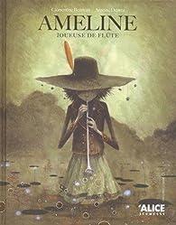 Ameline joueuse de flûte