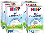 HiPP PRE BIO Combiotik 600g, 4er Pack (4 x 600 g)