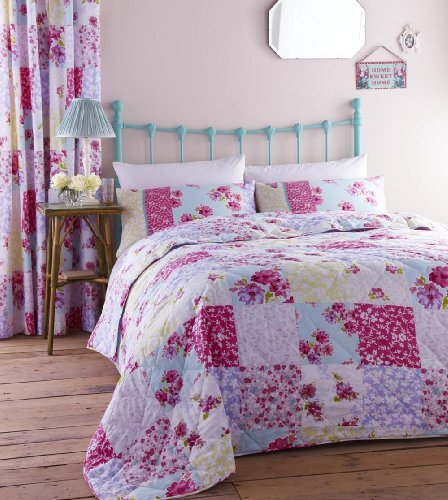 Catherine Lansfield Gypsy Patchwork Bedspread