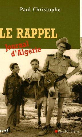 Le rappel : Journal d'Algérie
