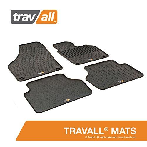 Travall TRM1010R Rubber Floor Car Mats